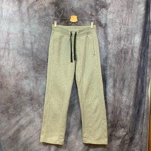 Men's Lululemon Gray Straight Sweat Pants Small